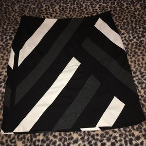 Color block skirt from WHBM